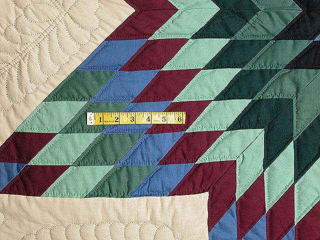 Amish Paperbag Lone Star Quilt Photo 5