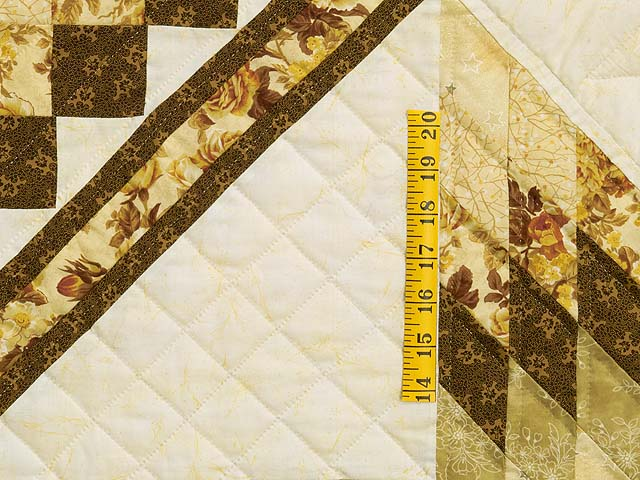 King Gold Brown and Sage Lone Star Trip Quilt Photo 5