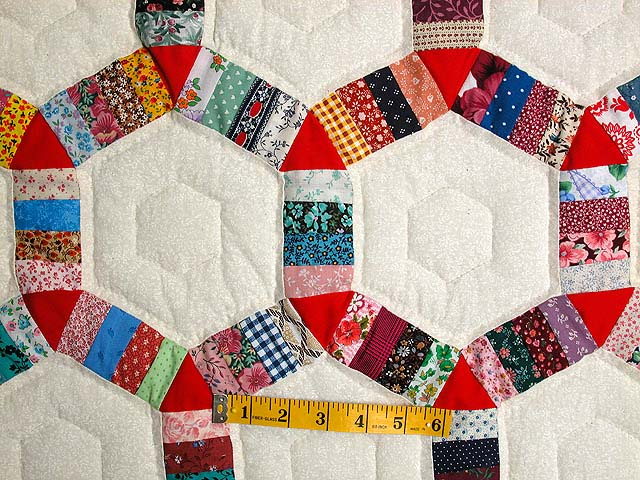 Multicolor Friendship Ring Quilt Photo 4