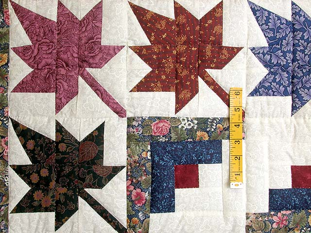Autumn Splendor Log Cabin Quilt Photo 4