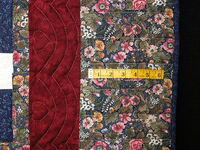 Autumn Splendor Log Cabin Quilt Photo 6