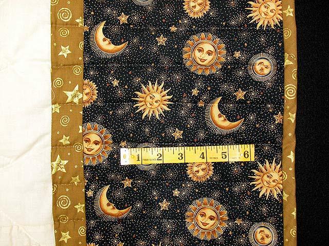 Black and Gold Philadelphia Pavement Quilt Photo 6