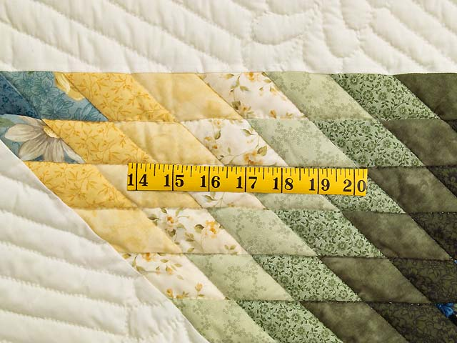 Blue Green and Yellow Lone Star Country Bride Quilt Photo 5