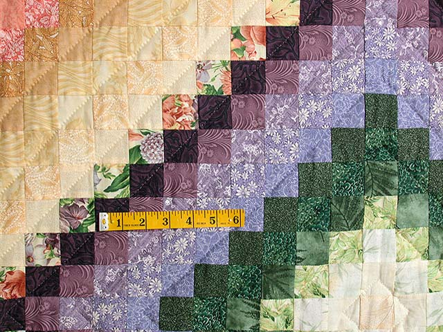 Floral Color Splash Quilt Photo 4