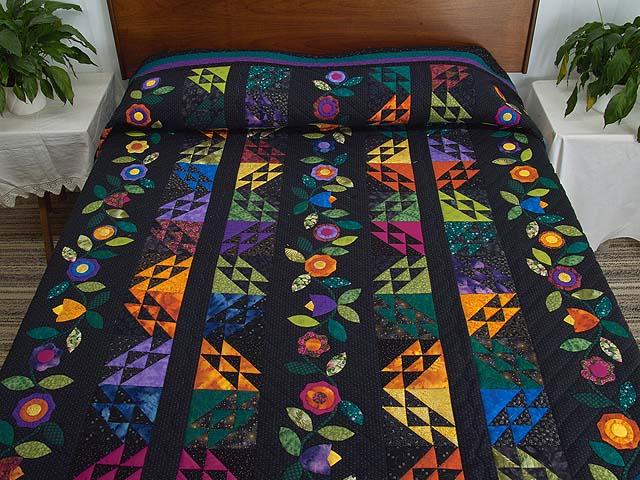 Multicolor Flower Power Quilt Photo 1