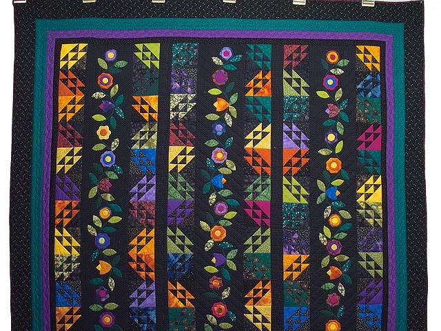 Multicolor Flower Power Quilt Photo 2