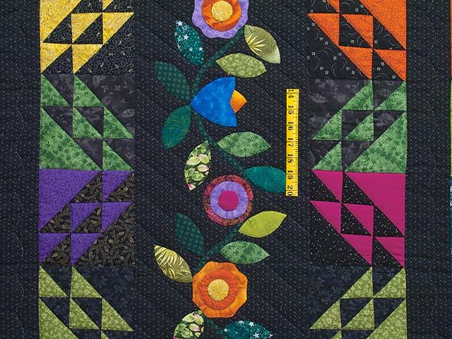 Multicolor Flower Power Quilt Photo 4