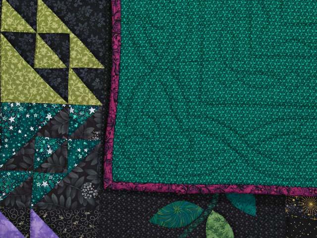 Multicolor Flower Power Quilt Photo 8
