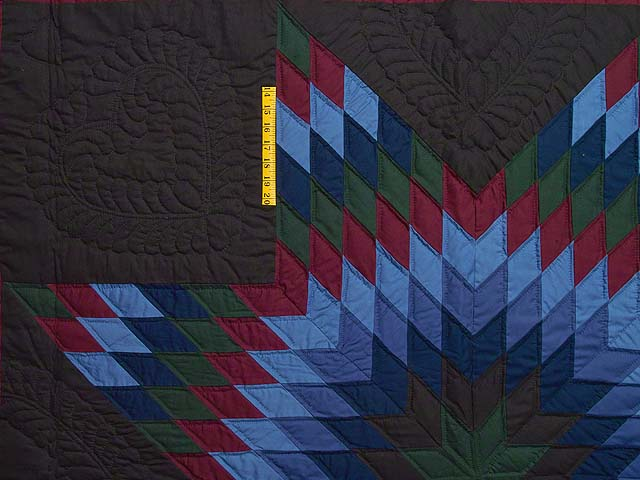 Amish Lone Star Quilt Photo 4