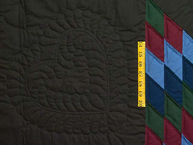 Amish Lone Star Quilt Photo 5