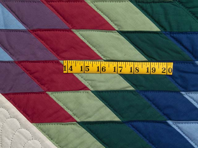 Amish Bright Lone Star Quilt Photo 6