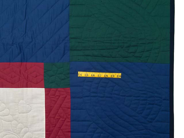 Amish Bright Lone Star Quilt Photo 7