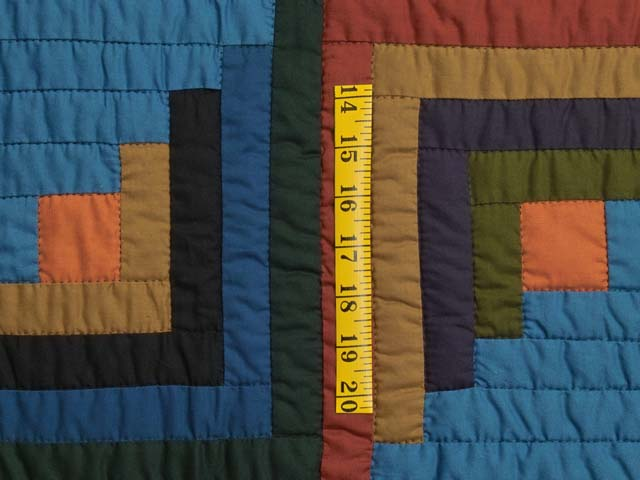 Amish Log Cabin Quilt Photo 5