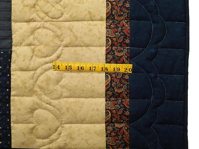Country Colors Log Cabin Quilt Photo 7