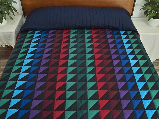 Amish Triangles Quilt Photo 1