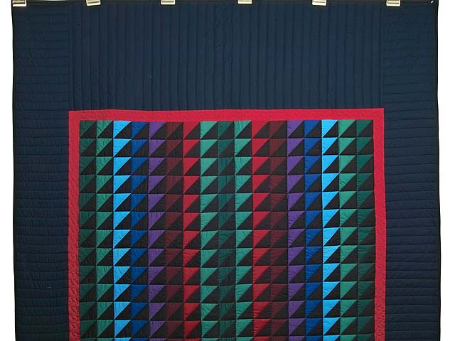 Amish Triangles Quilt Photo 2