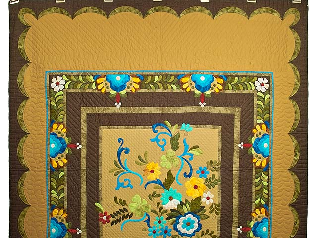 Sharon Appliqu� Quilt Photo 2