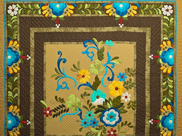 Sharon Appliqu� Quilt Photo 3