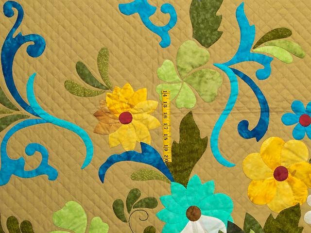 Sharon Appliqu� Quilt Photo 4