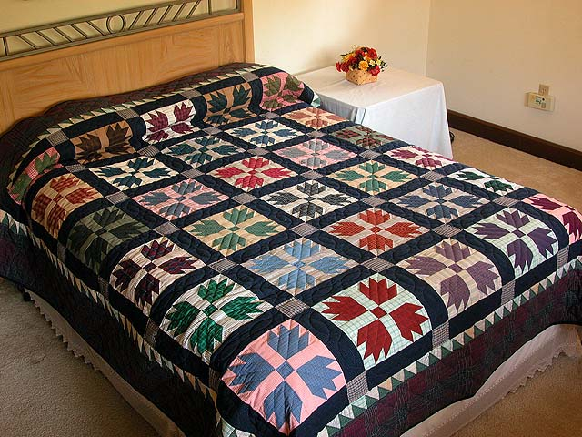 Plaid Bears Paw Quilt Photo 1