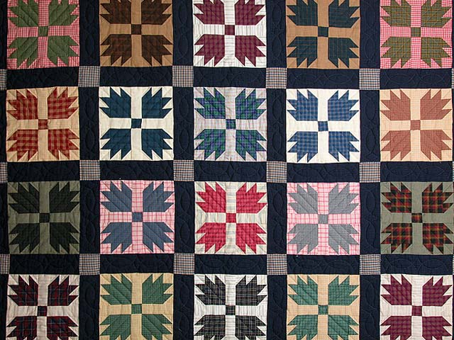 Bears Paw Quilt -- gorgeous ably made Amish Quilts from Lancaster ... : bear claw quilt - Adamdwight.com
