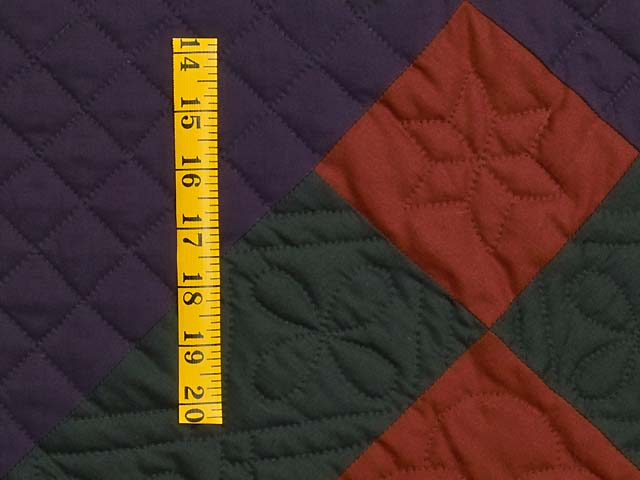 Amish Center Diamond Quilt Photo 5