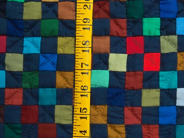 Amish Postage Stamp Quilt Photo 5