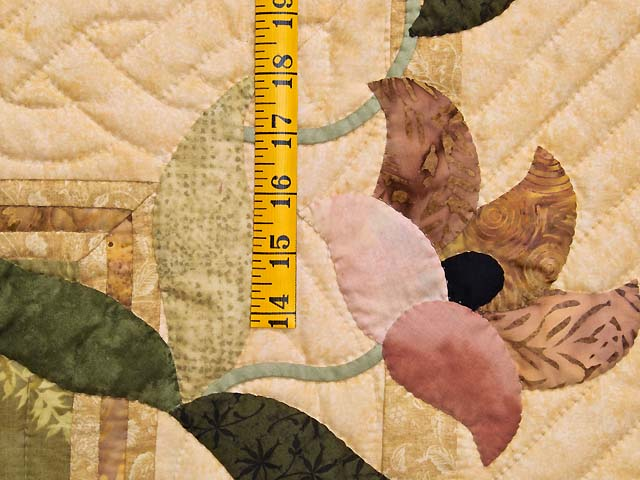 Moss Neutrals and Mauve Rainbow Reflections Quilt Photo 5