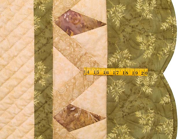 Moss Neutrals and Mauve Rainbow Reflections Quilt Photo 7