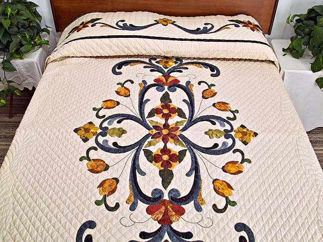 King Victorian Splendor Quilt Photo 1