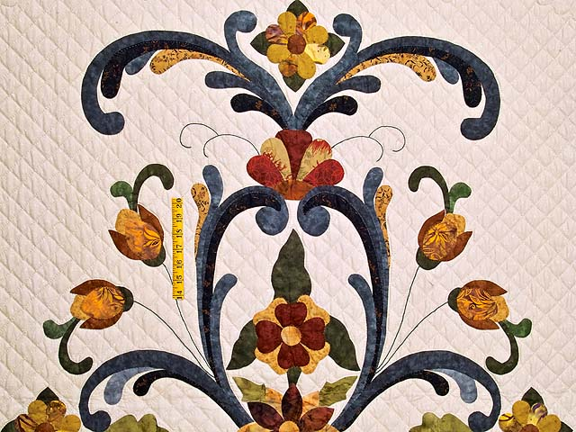 King Victorian Splendor Quilt Photo 4