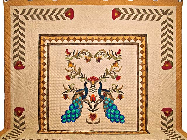 King Salutation Quilt Photo 2