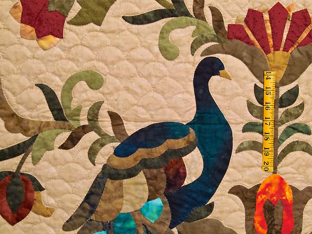 King Salutation Quilt Photo 5