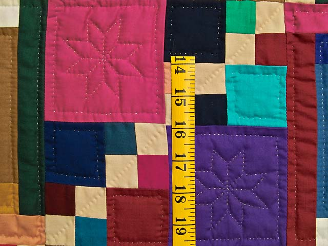 King Bright Home Sweet Home Log Cabin Quilt Photo 6