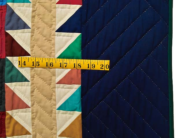 King Bright Home Sweet Home Log Cabin Quilt Photo 7