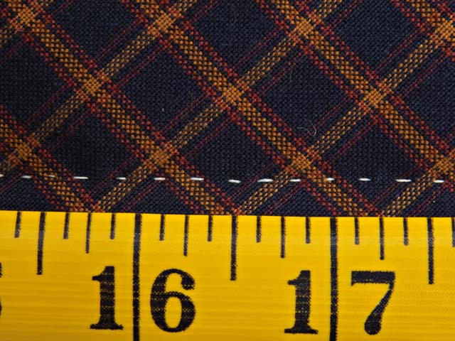 King Plaid Homespun Squares Quilt Photo 7