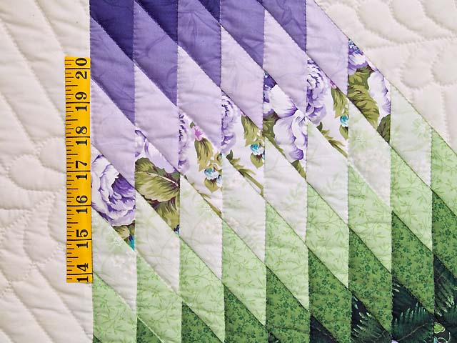 King Purple and Green Lone Star Country Bride Quilt Photo 6