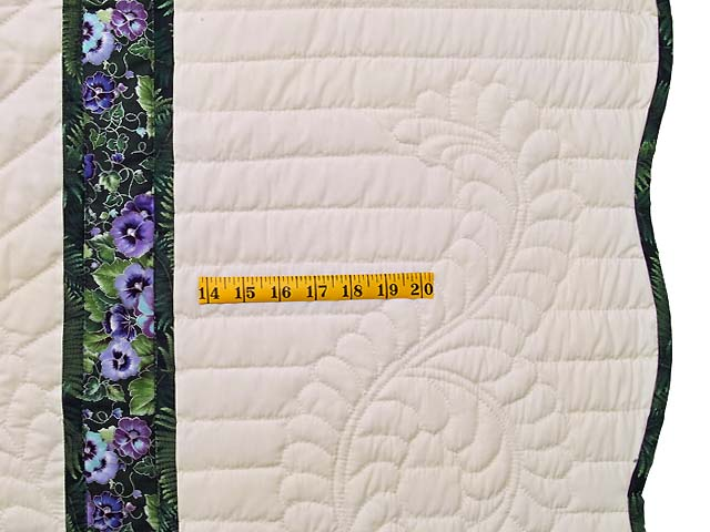 King Purple and Green Lone Star Country Bride Quilt Photo 7