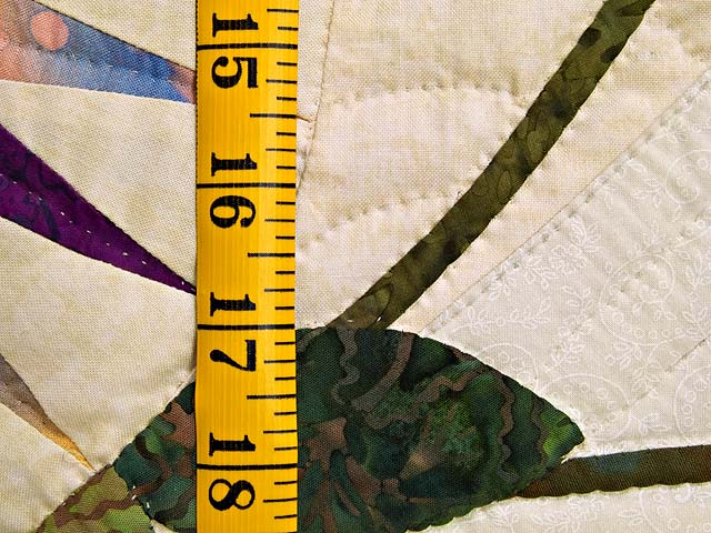 Extraordinary Compass Gardens Applique Quilt Photo 6