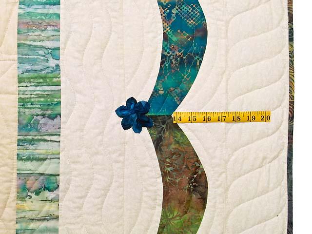 Extraordinary Compass Gardens Applique Quilt Photo 7