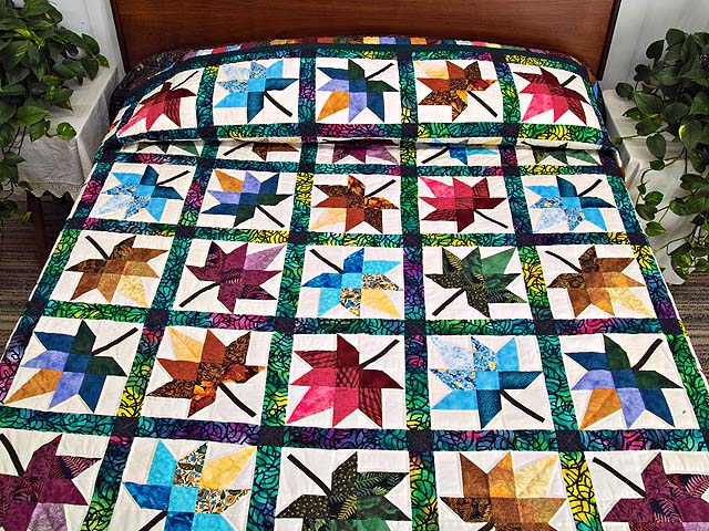 King Bright  Autumn Splendor Quilt Photo 1
