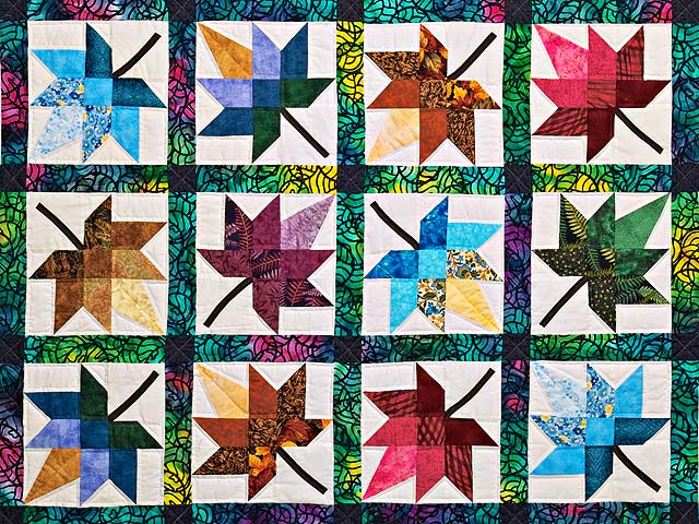 King Bright  Autumn Splendor Quilt Photo 3