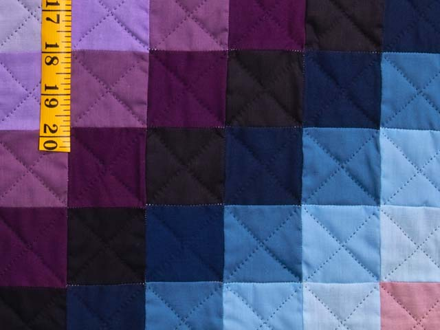 Extra Fine Amish Sunshine and Shadow Quilt Photo 6