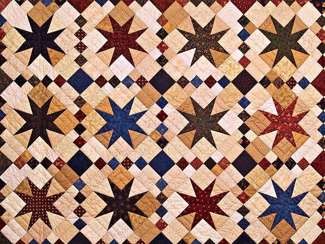 Stepping Through the Stars Quilt Photo 3