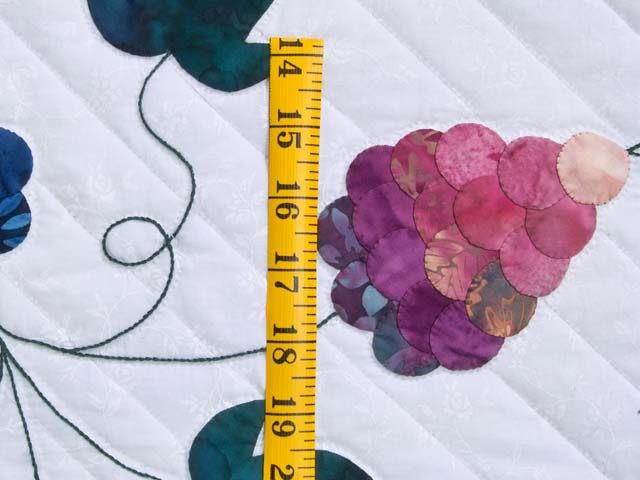 Applique Grape Basket Quilt Photo 6