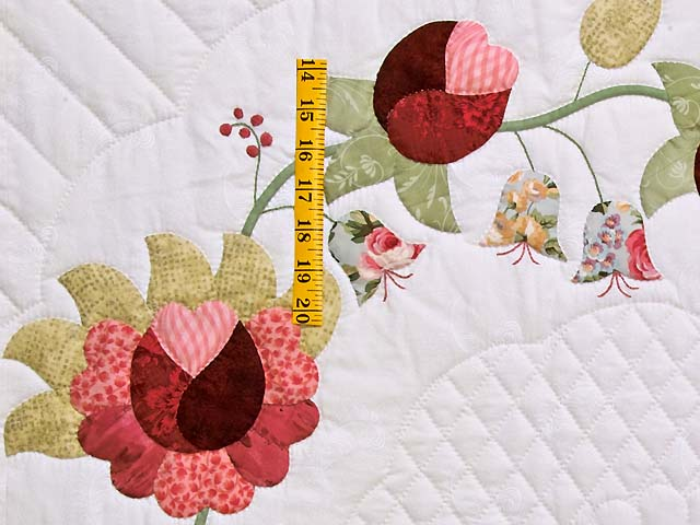 King Heart of Rose Quilt Photo 5