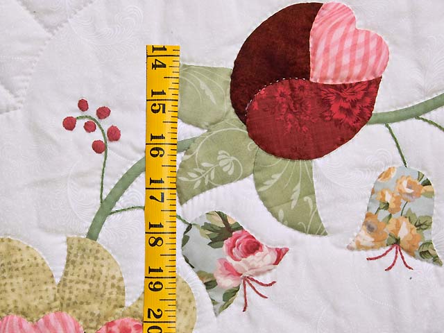 King Heart of Rose Quilt Photo 6