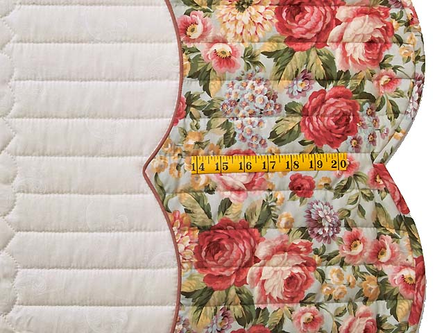 King Heart of Rose Quilt Photo 7