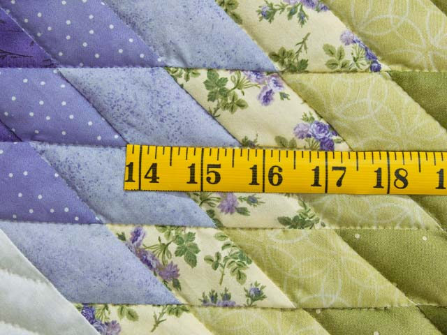 Green and Purple Lone Star Country Bride Quilt Photo 6