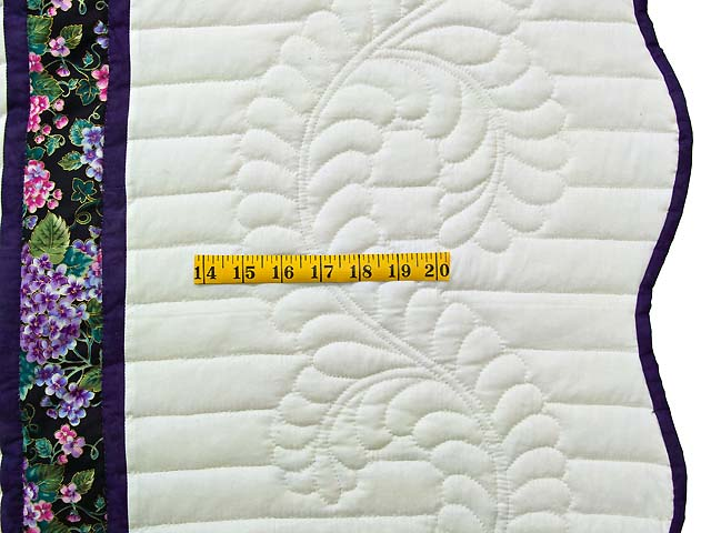 Green and Purple Lone Star Country Bride Quilt Photo 7